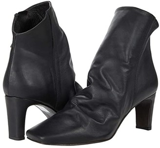 Free People Cybill Heel Boot (Black) Women's Shoes