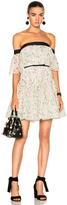 Giambattista Valli Off The Shoulder Tiered Mini Dress