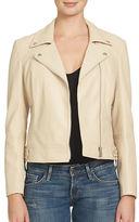 1 STATE Leatherette Moto Jacket