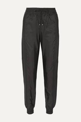 Moncler Jersey-trimmed Shell Track Pants - Black