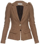 Preen by Thornton Bregazzi Charles hound's-tooth single-breasted blazer