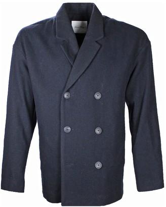 American Vintage Navy Wool Coats