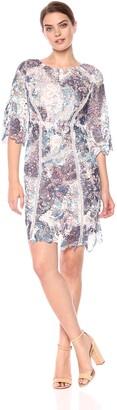 Jax Women's 3/4 Sleeve Lace Shift Dress