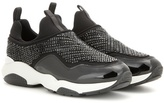 Salvatore Ferragamo Giolly Embellished Leather Sneakers
