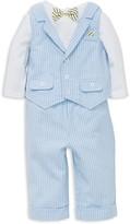 Little Me Boys' Bodysuit, Vest & Pants Set