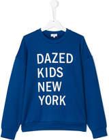 DKNY Teen dazed kids New York print sweatshirt