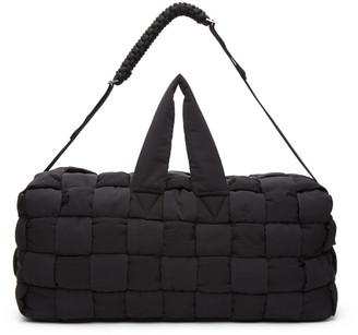 Bottega Veneta Black The Padded Hold-All Duffle Bag