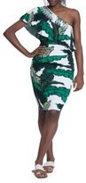 Tracy Reese Tropical-Printed Dress
