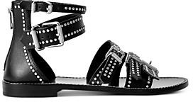 Zadig & Voltaire Women's Studded Gladiator Sandals