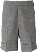 Thom Browne chino shorts - men - Wool/Cupro - 1