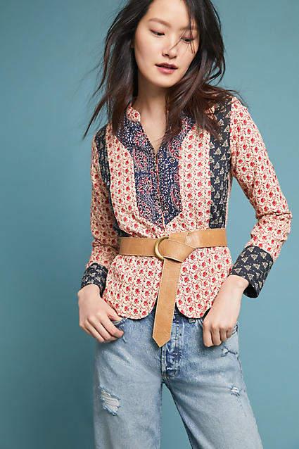 Antik Batik Mixed Print Jacket
