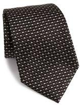 Armani Collezioni Triangle Solid Silk Tie