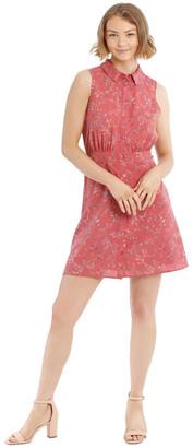 Tokito Sleeveless Skater Shirt Dress