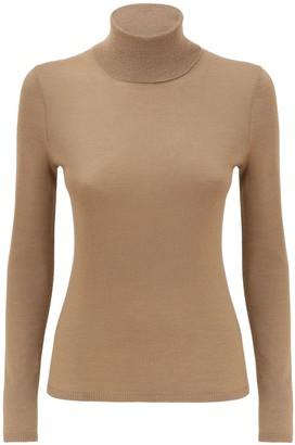 Gabriela Hearst Cashmere & Silk Knit Turtleneck Sweater
