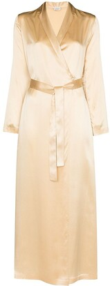 La Perla Tied Waist Silk Robe