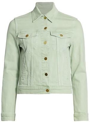 Frame Le Vintage Crop Denim Jacket