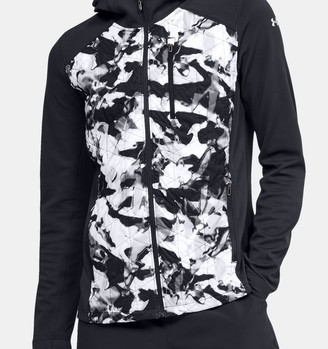 Under Armour Women's ColdGear Reactor Hybrid Lite Print Jacket