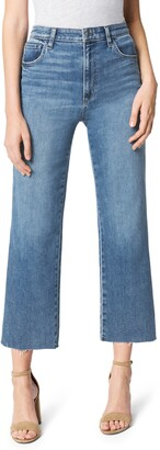 Joe's Jeans The Blake Raw Hem Crop Wide Leg Jeans