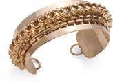 Social Security Bike Chain Cuff, Rose Gold
