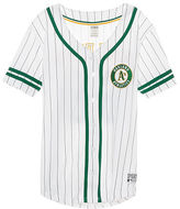 PINK Oakland Athletics Button Down Jersey