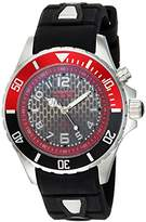 KYBOE! 'Power' Quartz Stainless Steel and Silicone Casual Watch, Color:Black (Model: KY.40-013.15)