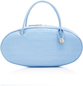 Hayward Pill Box Croc-Effect Leather Bag
