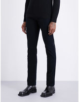 Tom Ford Slim-fit tapered cotton-moleskin trousers