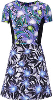 Peter Pilotto Astra printed stretch-crepe mini dress