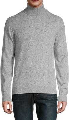 Saks Fifth Avenue Turtleneck Merino Wool-Blend Sweater
