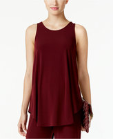 Alfani Racerback Jersey Tunic Tank, Only at Macy's