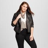 Who What Wear Women's Plus Size Moto Jacket