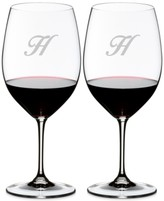 Riedel Vinum Monogram Collection, Script Letter