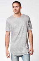 PacSun Koro Linen Extended Length Scallop T-Shirt