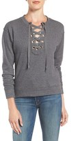 Mother Women's 'The Tie Up' Cotton Sweatshirt