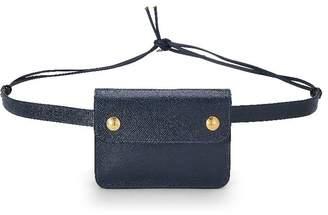 Hermes Navy Courchevel Belt Bag