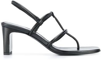 Dorateymur leather strappy sandals
