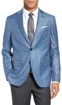 Ted Baker Men's Tivoli Trim Fit Plaid Wool Sport Coat