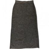 Gabriela Hearst Grey Wool Skirts