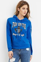Forever 21 Toronto Maple Leafs Graphic Hoodie