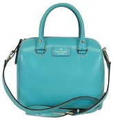 Kate Spade Blue Leather Satchel