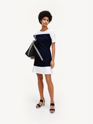 Tommy Hilfiger Short-Sleeve A-Line Dress
