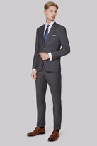 Moss Bros Skinny Fit Grey Twill Suit