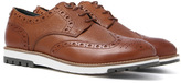 Barbour Palmer Tan Leather Brogues