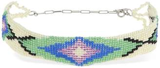 Isabel Marant Nova Beaded Chocker Necklace