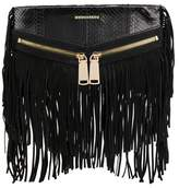 DSQUARED2 Women's Black Leather Clutch.