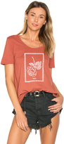 Obey Nobody's Flower Madison Scoop Neck Tee