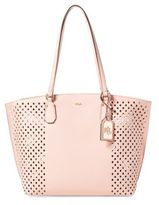 Lauren Ralph Lauren Tanner Perforated Medium Tote