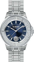 Versus Tokyo Crystal SGM250015 Men's Stainless Steel Watch with Swarovski Crystal Accents