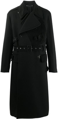 Dolce & Gabbana Belted Double-Breasted Coat