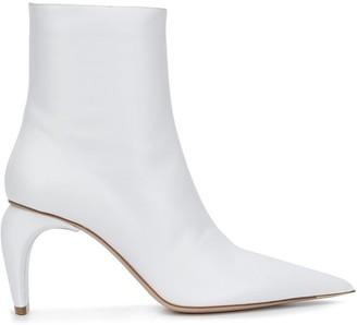 Misbhv Sculpted Heel Ankle Boots
